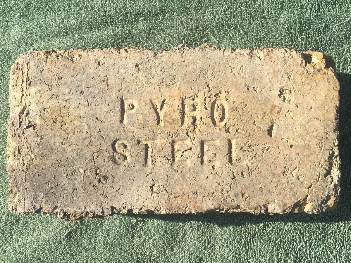 Pyro Steel Brick