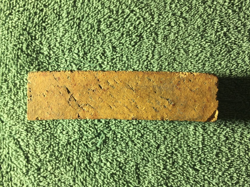 Alliance Clay Products Co Sample Brick 3 11-10-17