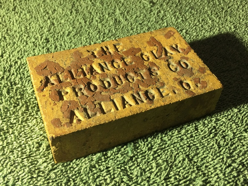 Alliance Clay Products Co Sample Brick 4 11-10-17