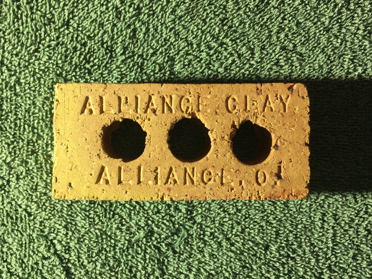 Alliance Clay Sample Brick