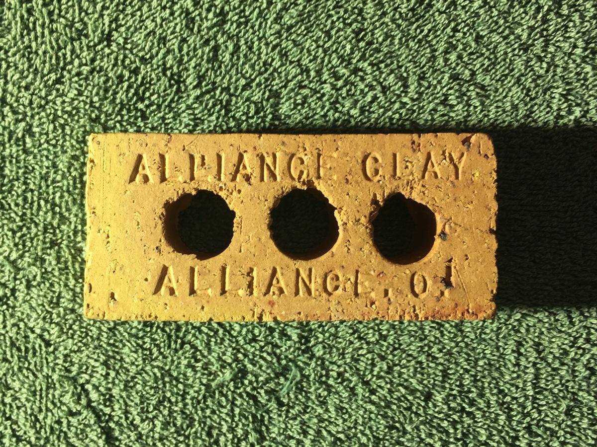 Alliance Clay SampleBrick