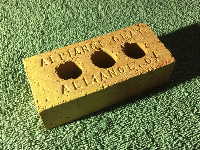 Alliance Clay Sample Brick 4 11-10-17