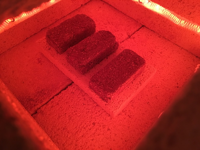 Bricks Firing In Kiln