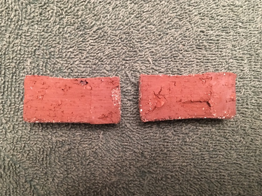 Homemade Sand Molded Bricks 3