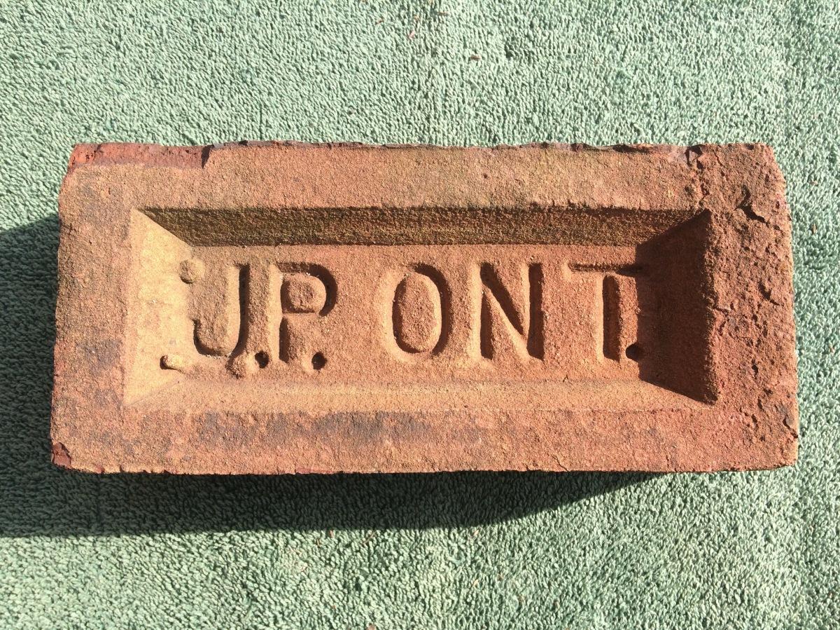 J.P. ONT. Brick