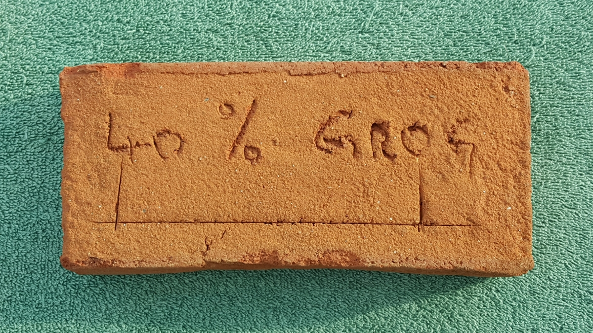 40 % GrogBrick